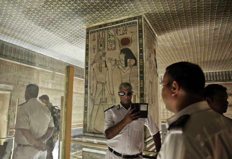 Археологи считают, что имудалось отыскать статую РамсесаII вЕгипте