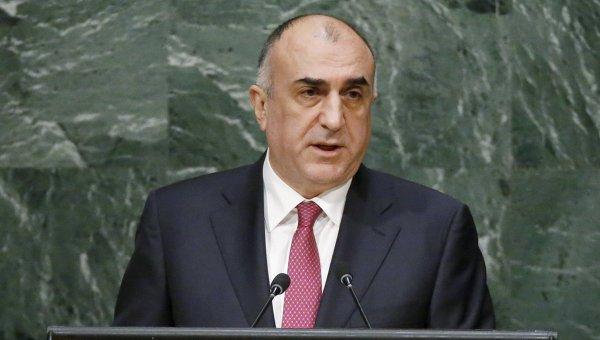 Министр иностранных дел Азербайджана Эльмар Мамедъяров на Генассамблее ООН