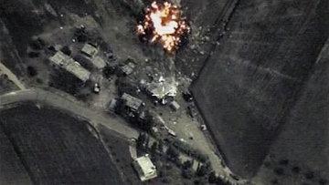 Точечные удары российской авиационной группы по объектам террористической организации ИГИЛ в Сирии. Архивное фото