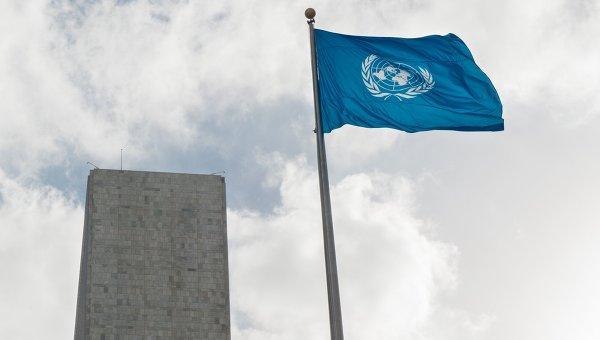 Флаг ООН. Архивное фото