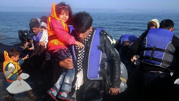 Ситуация с беженцами на греческом острове Лесбос. Архивное фото