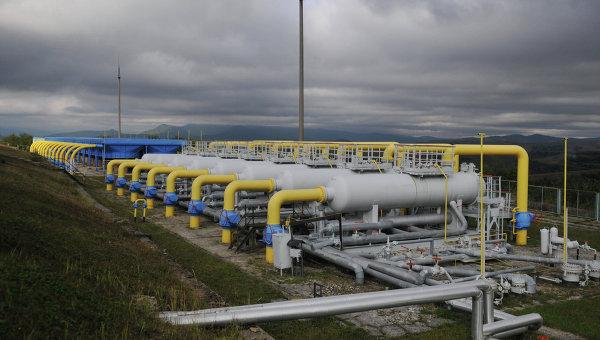 Высокогорная газокомпрессорная станция Воловец в Закарпатской области, Украина. Архивное фото
