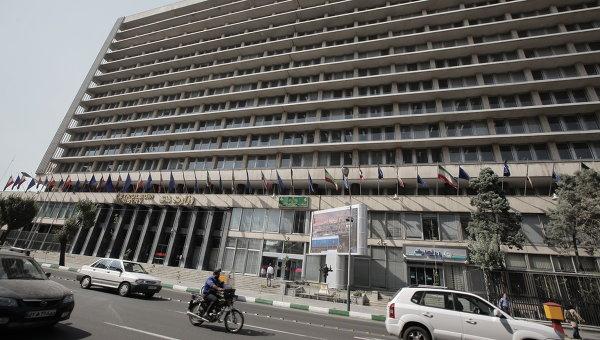 Здание Министерства нефти Ирана. Архивное фото