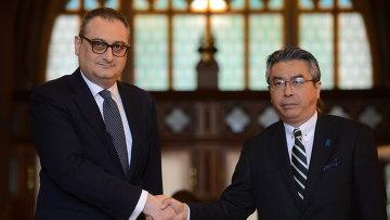 Российско-японские консультации на уровне заместителей министров иностранных дел по проблеме мирного договора