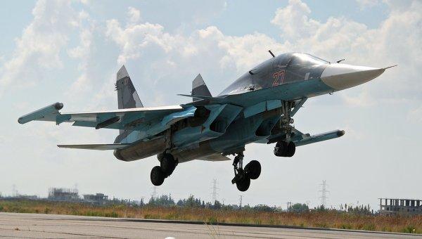 ВКС: российская авиация применила в Сирии мощную бомбу КАБ-1500