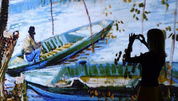 Открытие выставки Ван Гог: 125 лет вдохновения. Архивное фото