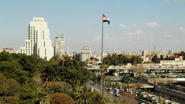 Город Дамаск в Сирии. Архивное фото