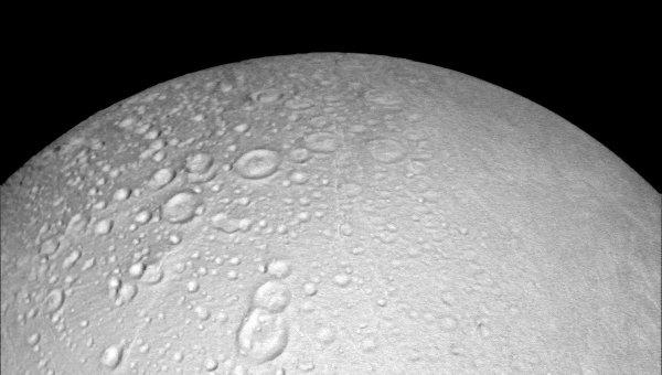 Фотография северного полюса Энцелада