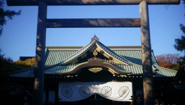 Премьер Японии направит ритуальную жертву вхрам Ясукуни