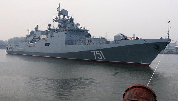 Сторожевой корабль Адмирал Эссен . Архивное фото