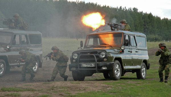 Спецназ Министерства обороны РФ. Архивное фото