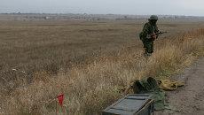 Сапер ополчения Донецкой народной республики. Архивное фото