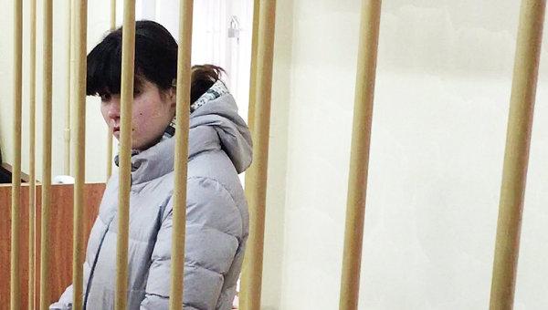 Студентка МГУ Варвара Караулова. Архивное фото