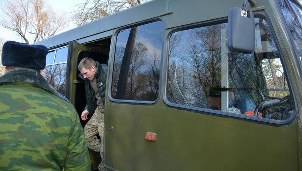 Украинских военнопленных готовят к обмену. Архивное фото