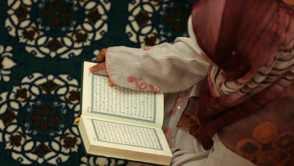 Чтение Корана. Архив