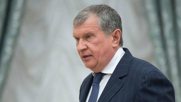 Президент, председатель правления ОАО НК Роснефть Игорь Сечин. Архивное фото