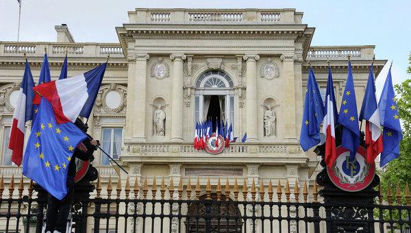 Здание Министерства иностранных дел Франции в Париже. Архивное фото