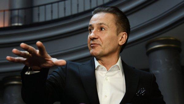 Актер режиссер Олег Меньшиков. Архивное