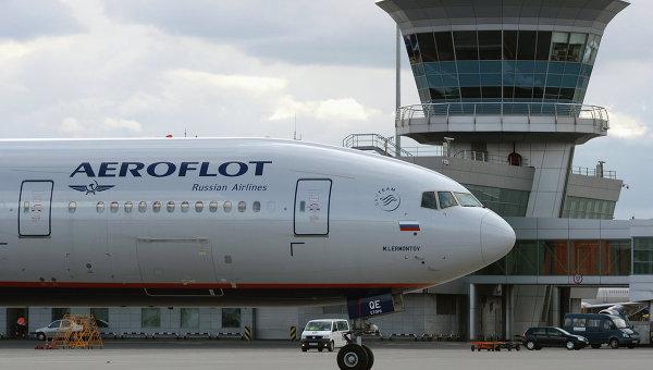 Самолет авиакомпании Аэрофлот. Архивное фото