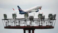 Самолет Boeing 777 авиакомпании Аэрофлот. Архивное фото