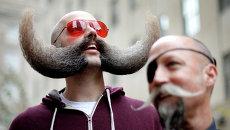 Национальный чемпионат бороды и усов в Бруклине