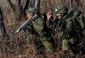Комплексные тактические учения артиллерийских и разведывательных подразделений 83-й бригады ВДВ в Приморском крае