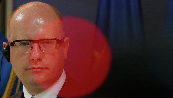 Различия вовзглядах намиграцию немешают отношениям сФРГ— Премьер Чехии