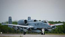 Американский штурмовик A-10. Архивное фото