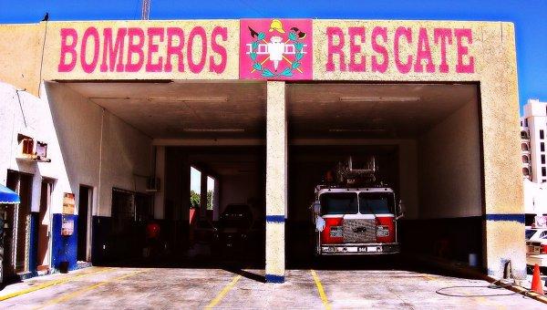 Пожарное депо, Мексика. Архивное фото