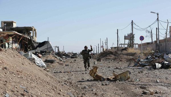 Курдские вооруженные силы в городе Синджар, архивное фото