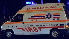 Карета скорой помощи в Словакии. архивное фото