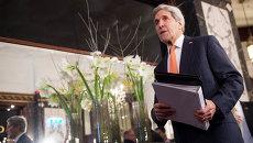 Джон Керри на встрече по Сирии в Вене, 14 ноября 2015