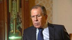 Лавров о бесперспективности позиции Запада в отношении Асада и борьбе с ИГ