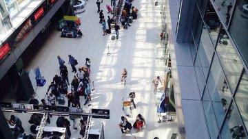 Международный аэропорт Киев (Жуляны). Архивное фото