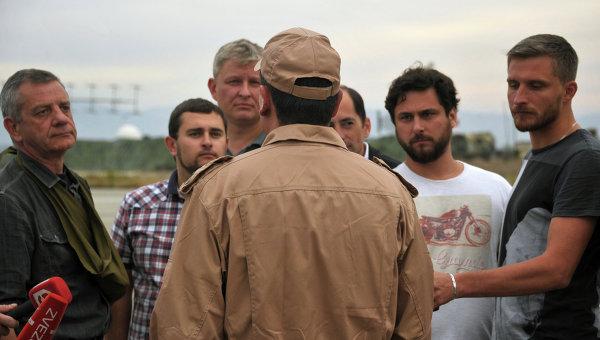 Спасенный летчик Су-24 Военно-космических сил России капитан Константин Мурахтин