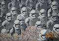 """Граффити по мотивам фильма """"Звездные войны"""" в Москве"""