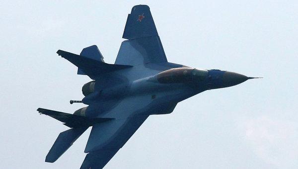 Полет палубного истребителя МиГ-29К. Архивное фото