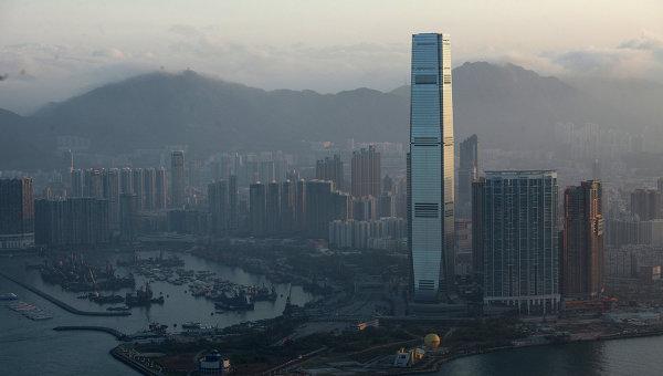 Вид Гонконга. Архивное фото