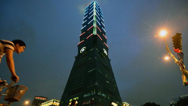 Небоскреб Тайбэй в Тайбэе. Архивное фото