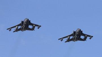 Самолеты британских ВВС Tornado приземлился на базе на Кипре после нанесения ударов по ДАИШ в Сирии