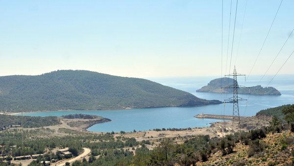 Долина Аккую в Турции, где должна быть построена АЭС