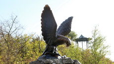 Скульптура Орла, Пятигорск. Архивное фото