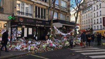 Кафе в котором произошел теракт в Париже