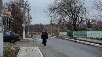 Село Желтое (на линии соприкосновения), ЛНР. Архивное фото