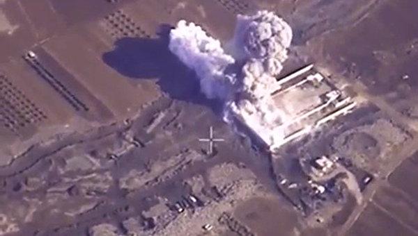 Авиаудары ВКС РФ по объектам ИГ (ДАИШ) в Сирии, архивное фото