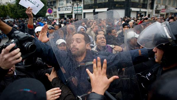 Беспорядки в Тунисе, архивное фото