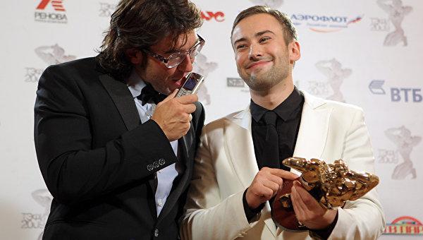 Дмитрий Шепелев. Церемония вручения премии ТЭФИ-2009. Архивное фото