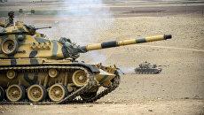 Турецкие военные на границе с Ираком. Декабрь 2015
