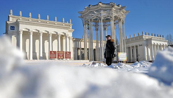 Павильон №66 на территории Всероссийского выставочного центра (ВДНХ). Архивное фото