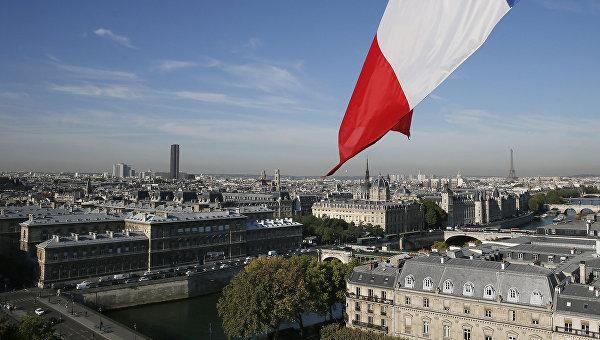 Вид на Париж, Франция
